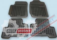 Фото 1 - TM Rezaw-Plast Коврики в салон Suzuki Grand Vitara 2005-> полимерные (резиновые), черный, 4 шт.