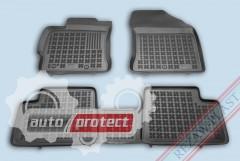 Фото 1 - TM Rezaw-Plast Коврики в салон Toyota Auris 2012-> полимерные, задний цельный, черный, 3шт.