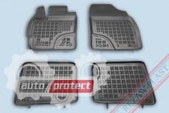 Фото 1 - TM Rezaw-Plast Коврики в салон Toyota Prius 2010-> полимерные, черный, 4шт.