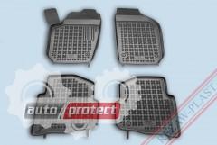Фото 1 - TM Rezaw-Plast Коврики в салон VW Polo 2001-2009-> полимерные, черный, 4шт