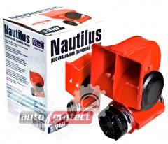 Фото 1 - Vitol CA-10400 Сигнал воздушный NAUTILUS 12V красный