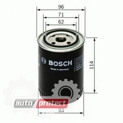 Фото 1 - Bosch 0 451 104 014 фильтр масляный