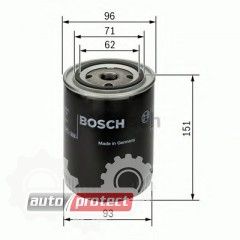 Фото 1 - Bosch 0 451 203 012 фильтр масляный