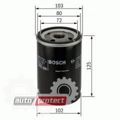 Фото 1 - Bosch 0 986 452 062 фильтр масляный