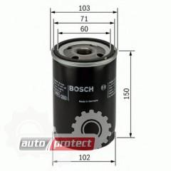 Фото 1 - Bosch 0 986 452 063 фильтр масляный