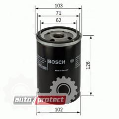 Фото 1 - Bosch 0 986 452 066 фильтр масляный
