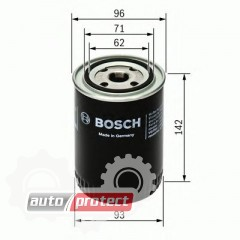 Фото 1 - Bosch 0 986 452 400 фильтр масляный