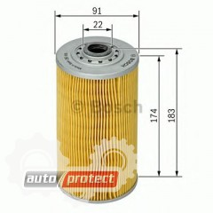 Фото 1 - Bosch 1 457 429 636 фильтр масляный