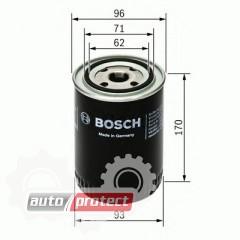 Фото 1 - Bosch F 026 407 057 фильтр масляный