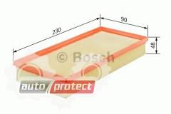 Фото 1 - Bosch 1 457 433 255 фильтр воздушный