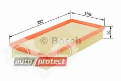 Фото 1 - Bosch 1 457 433 286 фильтр воздушный