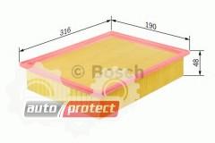 Фото 1 - Bosch 1 457 433 523 фильтр воздушный