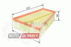 Фото 1 - Bosch F 026 400 126 фильтр воздушный