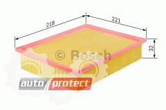 Фото 1 - Bosch F 026 400 206 фильтр воздушный