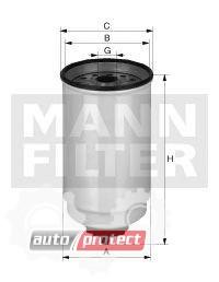 Фото 1 - MANN-FILTER WK 12 002 фильтр топливный