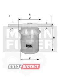 Фото 1 - MANN-FILTER WK 42/83 фильтр топливный