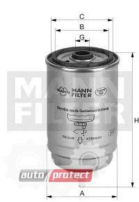 Фото 1 - MANN-FILTER WK 716/2 x фильтр топливный