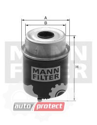 Фото 1 - MANN-FILTER WK 8143 фильтр топливный