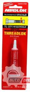 Фото 1 - Abro TL-371 Threadlock Фиксатор резьбовых соединений красный