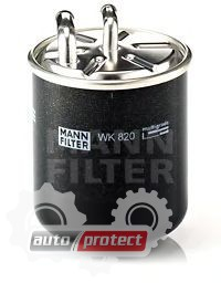 Фото 1 - MANN-FILTER WK 820 фильтр топливный