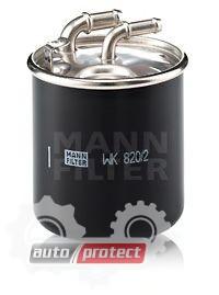 Фото 1 - MANN-FILTER WK 820/2 x фильтр топливный