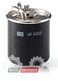 Фото 1 - MANN-FILTER WK 842/23 x фильтр топливный