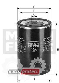 Фото 1 - MANN-FILTER WK 850/3 фильтр топливный