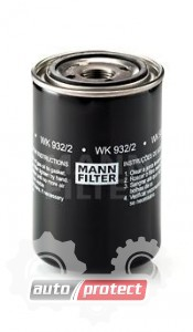 Фото 1 - MANN-FILTER WK 932/2 фильтр топливный