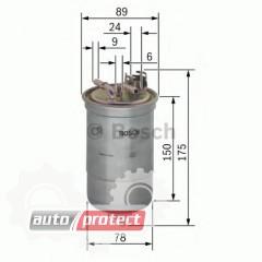 Фото 1 - Bosch 0 450 906 267 фильтр топливный