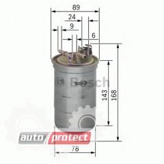 Фото 1 - Bosch 0 450 906 274 фильтр топливный