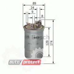 Фото 1 - Bosch 0 450 906 318 фильтр топливный