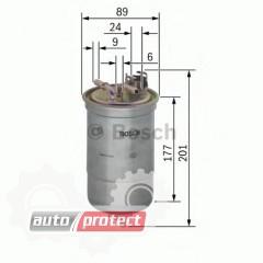 Фото 1 - Bosch 0 450 906 384 фильтр топливный