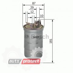 Фото 1 - Bosch 0 450 906 453 фильтр топливный