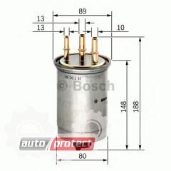 Фото 1 - Bosch 0 450 906 508 фильтр топливный