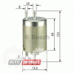 Фото 1 - Bosch 0 450 915 001 фильтр топливный