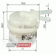 Фото 1 - Bosch 0 986 450 039 фильтр топливный
