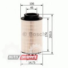 Фото 1 - Bosch 1457429655 фильтр топливный