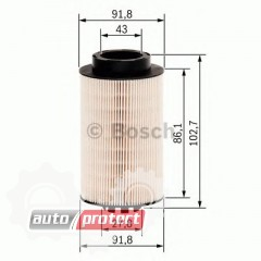 Фото 1 - Bosch 1457431707 фильтр топливный