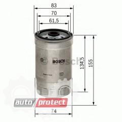 Фото 1 - Bosch 1457434105 фильтр топливный
