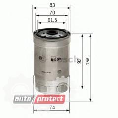 Фото 1 - Bosch 1457434106 фильтр топливный