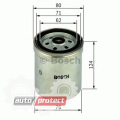 Фото 1 - Bosch 1457434183 фильтр топливный