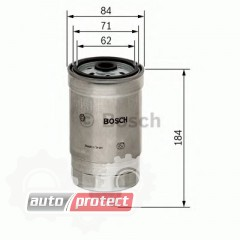 Фото 1 - Bosch 1457434187 фильтр топливный