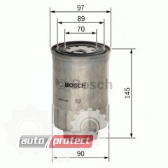 Фото 1 - Bosch 1457434281 фильтр топливный