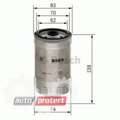 Фото 1 - Bosch 1457434329 фильтр топливный