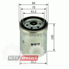 Фото 1 - Bosch 1457434331 фильтр топливный