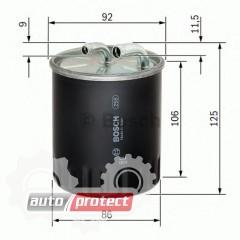 Фото 1 - Bosch 1457434437 фильтр топливный