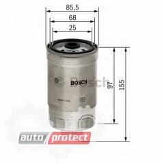 Фото 1 - Bosch F 026 402 048 фильтр топливный