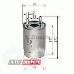 Фото 1 - Bosch F 026 402 067 фильтр топливный