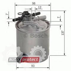 Фото 1 - Bosch F 026 402 096 фильтр топливный