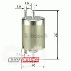 Фото 1 - Bosch F 026 403 000 фильтр топливный